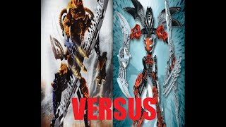 Analysis - BIONICLE Versus video: Brutaka Vs. Icarax