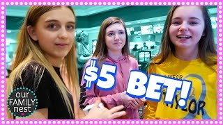 PRANK FAIL!! // WHO WON THE $5 BET?  // CHOOSING PAINT COLORS!