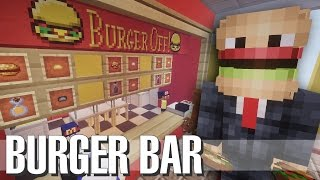 getlinkyoutube.com-Minecraft | BURGER RESTAURANT MOD | Microblock Mod Build