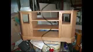 getlinkyoutube.com-How I built an Entertainment corner TV stand.