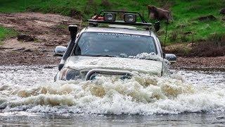 getlinkyoutube.com-Extreme offroad 4x4 action australia adventure - mud bog water crossing 4WD