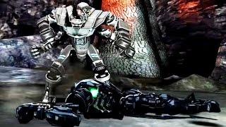 getlinkyoutube.com-Real Steel WRB TOURNAMENT The Unholy Annihilator - Asura VS WRB II NEW ROBOT (Живая Сталь)