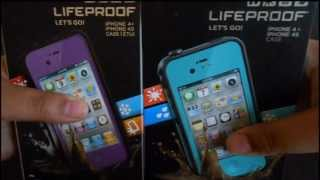 FAKE LIFEPROOF CASE vs. REAL LIFEPROOF CASE PART 1