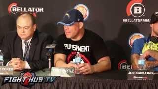getlinkyoutube.com-Tito Ortiz vs. Stephan Bonnar- Full video- post fight press conference video
