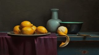 getlinkyoutube.com-Lemon still life inspired by old master time lapse