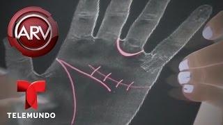 Expertos revelan cómo saber tu futuro con las manos | Al Rojo Vivo | Telemundo