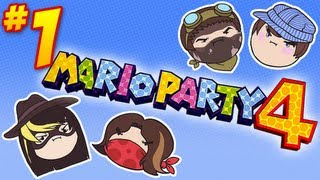 getlinkyoutube.com-Mario Party 4: Suzy Joins the Party! - PART 1 - Steam Rolled