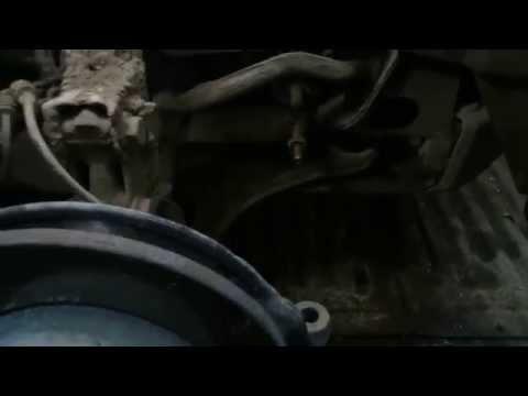 Замена рулевых наконечников Мерседес W168 кузов