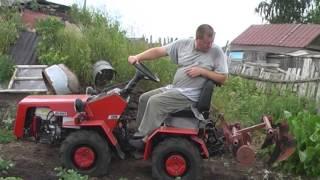 """getlinkyoutube.com-Минитрактор Беларус 132н """"окучивание"""""""