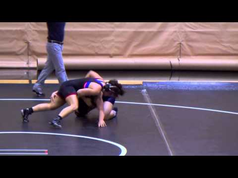 Pacific Men's & Women's Wrestling Highlights vs. Southwestern Oregon CC, Dec. 6, 2014