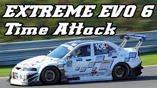 getlinkyoutube.com-Mitsubishi EVO 6 RS - Extreme Time Attack car Zandvoort 2013