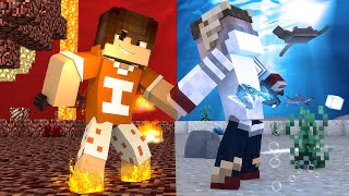 getlinkyoutube.com-Minecraft: PODER DO FOGO - TROCA ‹ Ine ›