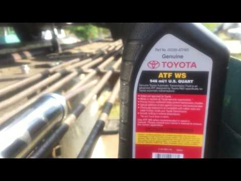 Замена масла в АКПП LEXUS RX 350