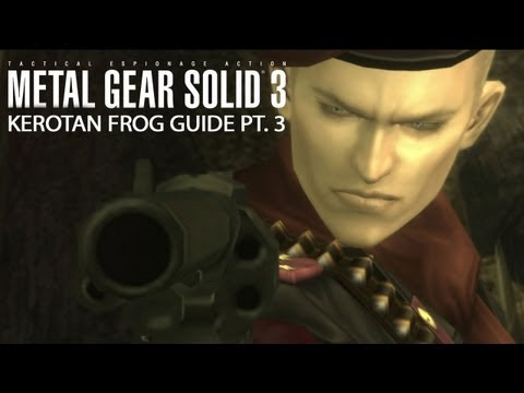 Metal Gear Solid HD Kerotan Frog Guide Part 3