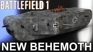 "getlinkyoutube.com-BATTLEFIELD 1 ""THEY SHALL NOT PASS"" NEW BEHEMOTH! (Battlefield 1 K-Wagen Behemoth)"