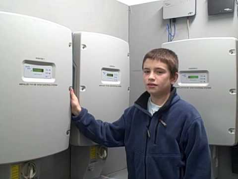 Zane's Cycles Solar PV System (grade school)