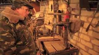 getlinkyoutube.com-Сверлильный станок самодельный, Сверлильный станок своими руками. How to make a drilling machine