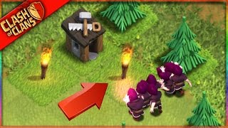 getlinkyoutube.com-The FLAMING Clash of Clans WIZARDS TAKE OVER!