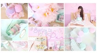 getlinkyoutube.com-Spring in Paris DIY Room Decor Girly & French Part 1 ♡