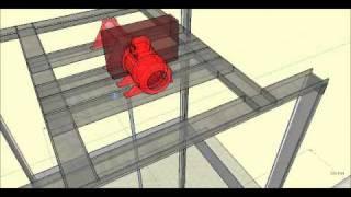 getlinkyoutube.com-Projeto de Elevador de carga apresentado -Técnico em  Eletromecânica 2010 - SENAI