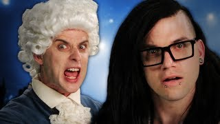 getlinkyoutube.com-Mozart vs Skrillex. Epic Rap Battles of History Season 2.