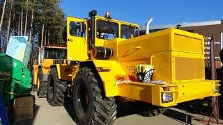 getlinkyoutube.com-Кировец К-700А капитально восстановленный. Old soviet tractor Kirovets K-700A