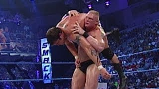 Brock Lesnar vs. Randy Orton: SmackDown, September 5, 2002 width=