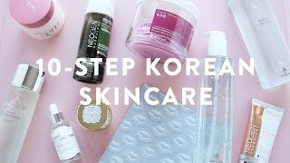10-STEP KOREAN SKIN CARE REVIEW | Inspired by Soko Glam