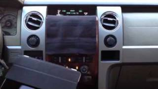 Mounting iPad in 2010 Ford F150