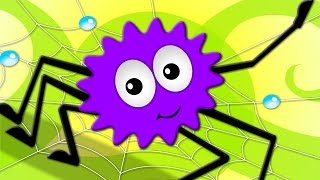 getlinkyoutube.com-Incy Wincy Spider | Nursery Rhymes For Childrens | Songs For Kids