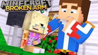 getlinkyoutube.com-BABY LEAH BREAKS HER ARM!! - Minecraft - Little Donny Adventures.