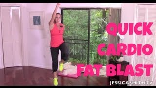 150-Calorie Cardio Fat Blast - Full Length 11-Minute High Intensity Interval Training Workout