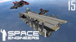 getlinkyoutube.com-Space Engineers Shipyard: Avocet's Nest Carrier