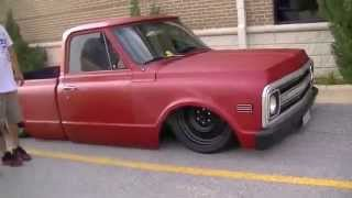 BAGGED and SLAMMED C10 Trucks | Dropped and Clean 67-72