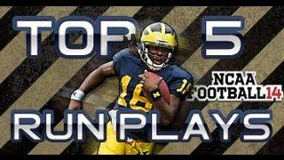 getlinkyoutube.com-NCAA 14 Top 5 Running Plays