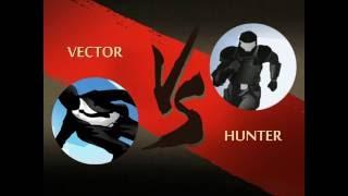 getlinkyoutube.com-Shadow Fight 2: Vector vs Hunter
