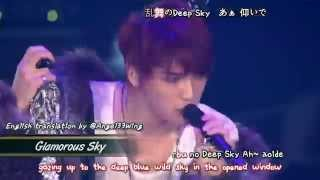 getlinkyoutube.com-Kim Jaejoong 김재중 - Glamorous Sky (2013 Concert in Tokyo Dome) [eng + romaji + 日本語 + karaoke sub]