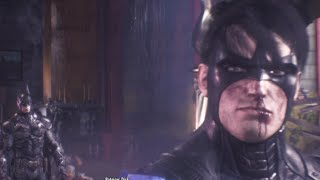 Batman Arkham Knight Batmans Goodbye To Nightwing