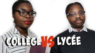 getlinkyoutube.com-COLLÈGE VS LYCÉE