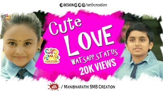 Cute Love Watsapp Status | SMBcreation | Meesaya Murukku | Vaadi Nee Vaa | Hiphop Tamizha | HD