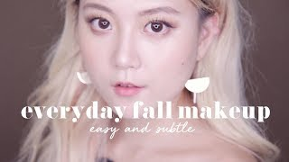 Easy & Subtle Everyday Fall Makeup Routine | 11STREET x Q2HAN