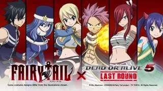 Dead Or Alive 5 Last Round | Fairy Tail Mashup Costume Trailer | PS4 Xbox One