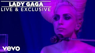 getlinkyoutube.com-Lady Gaga - Speechless (Live At The VEVO Launch Event)