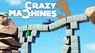getlinkyoutube.com-Crazy Machines 3 - One Dangerous Bridge! - Crazy Machines 3 Gameplay Highlights