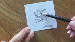getlinkyoutube.com-Zentangle® Muster: Paradox