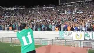 getlinkyoutube.com-جمهور الرجاء البيضاوي في جو احتفالي فريد من نوعه