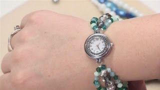 getlinkyoutube.com-How To Create Beaded Watch Bands