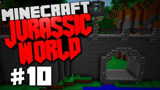 "Jurassic World | Minecraft Rexxit Modpack #10 ""Builders Wand, Angel Ring, Build Montage, Hypsil"""