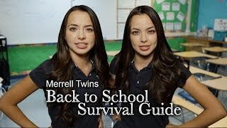 getlinkyoutube.com-Back to School Survival Guide - Merrell Twins