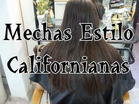 Californian Hair Color Technique Tutorial - Mechas Californi